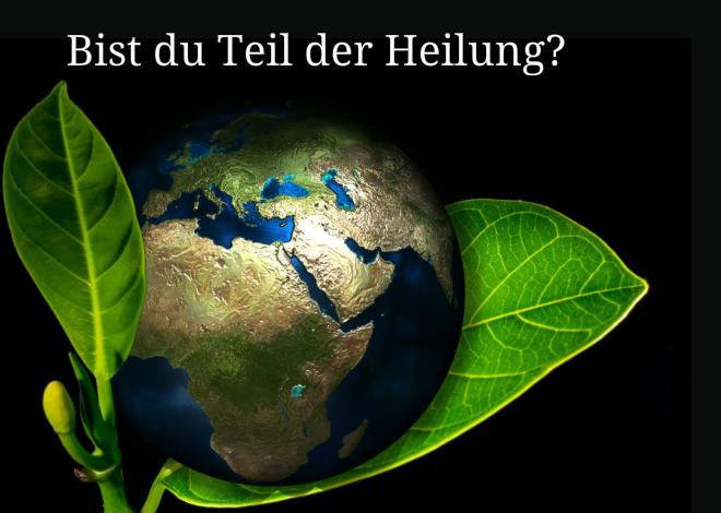 Die Welt ist krank (2) – bist Du Teil der Heilung?